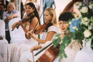 Музыканты на церемонию